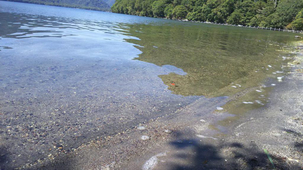 菖蒲ヶ浜キャンプ場中禅寺湖