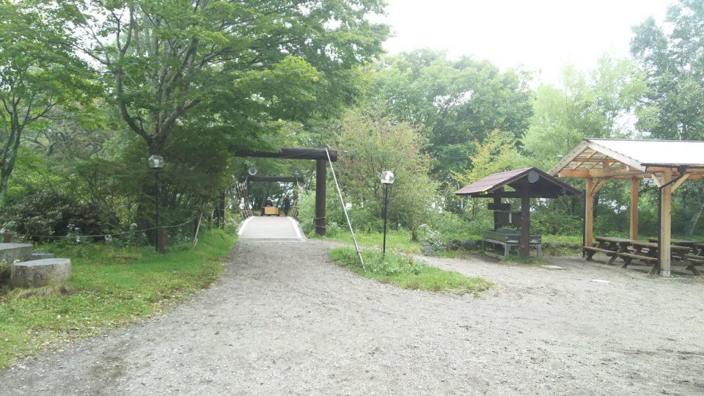 菖蒲ヶ浜キャンプ場場内
