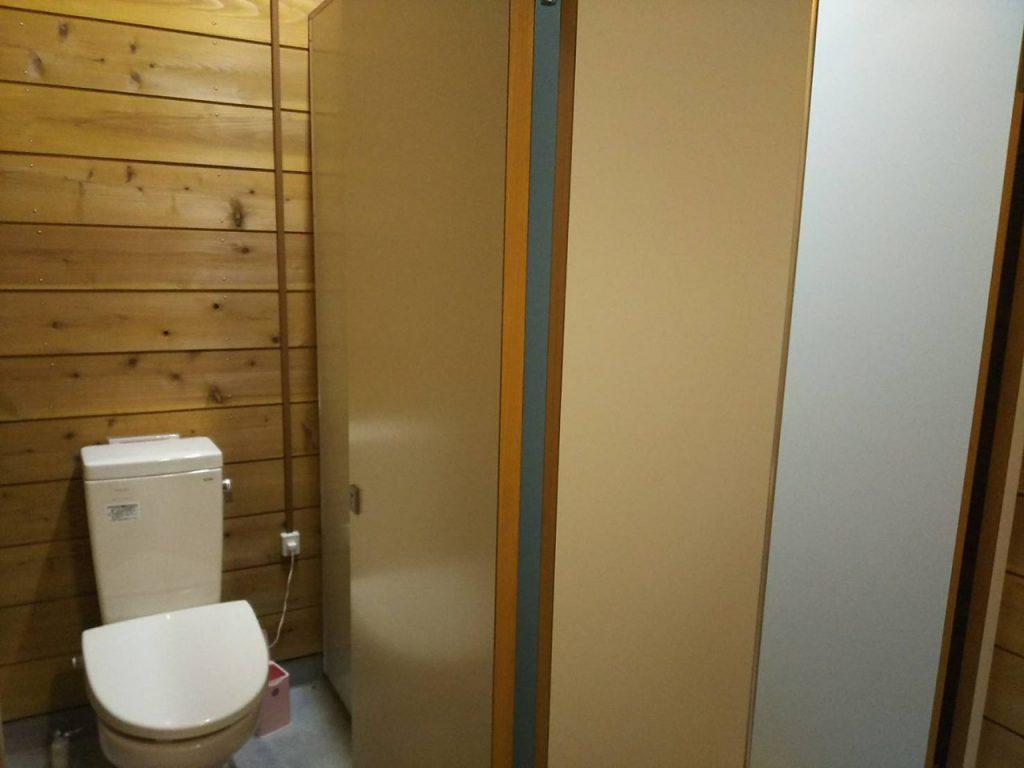 カンパーニャ嬬恋キャンプ場トイレ