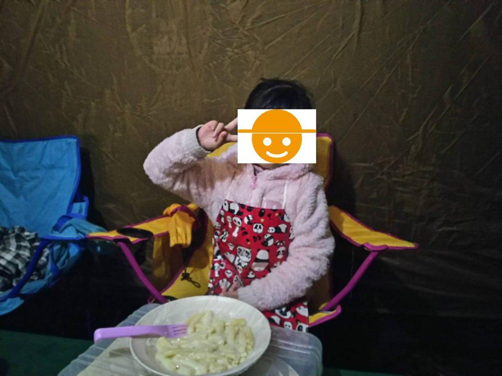 カンパーニャ嬬恋キャンプ場夕飯