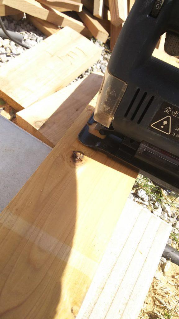 木材カット ジグソー