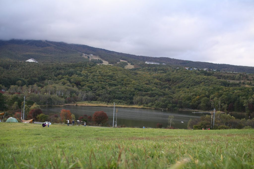 カンパーニャ嬬恋キャンプ場バラギ湖