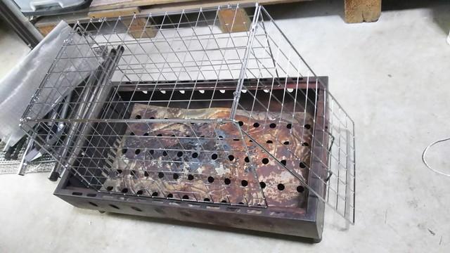 焚き火の火の粉対策DIY