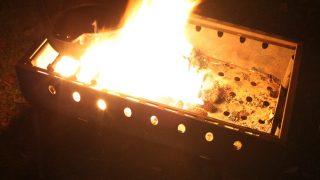 焚き火の火の粉で穴だらけ!?になる前に。火の粉対策について
