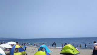 神奈川の三浦海岸海水浴場に行ってきました&無料駐車場情報