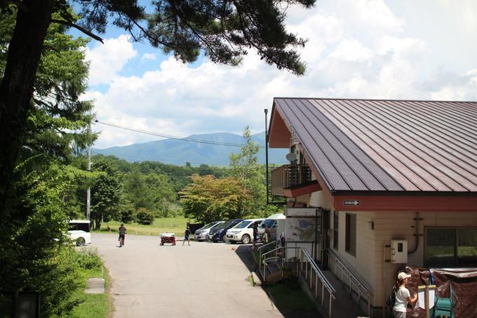 カンパーニャ嬬恋キャンプ場の管理棟