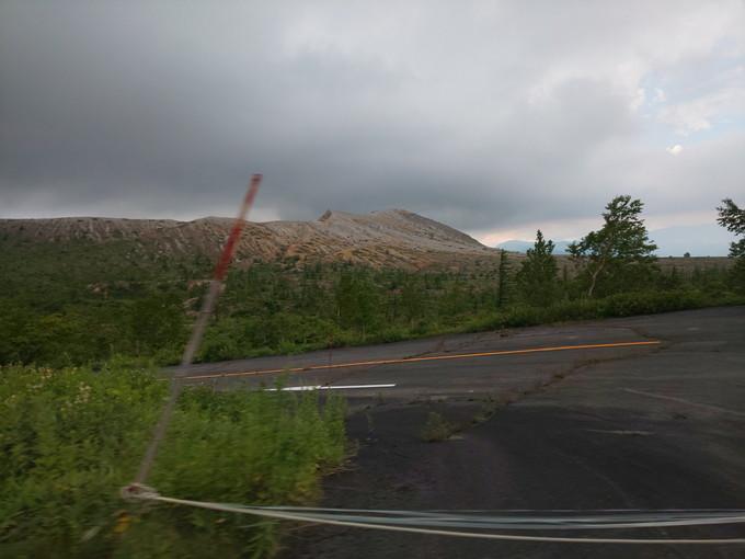 白根山 噴火
