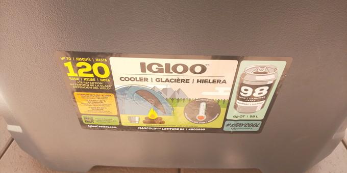 igloo(イグルー) マックスコール クーラーボックス